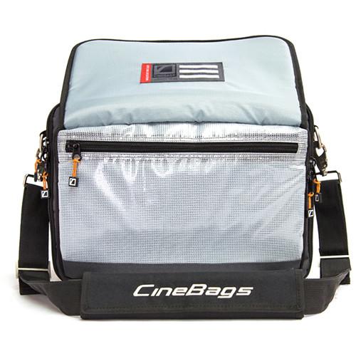 CineBags CB-27 Lens Smuggler Bag (Black/Charcoal)
