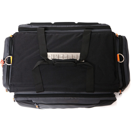 CineBags CB-01A Production Bag (Black and Gray with Orange Webbing)